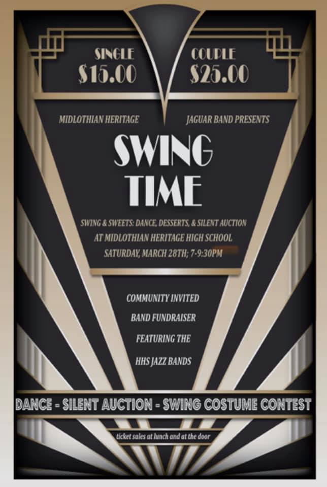 Swing and Sweets Flyer
