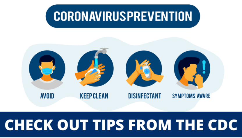 CDC Prevention Tips