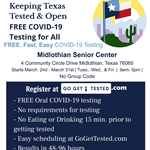 Go Get Tested - Drive thru Covid Testing Flyer (jpg)