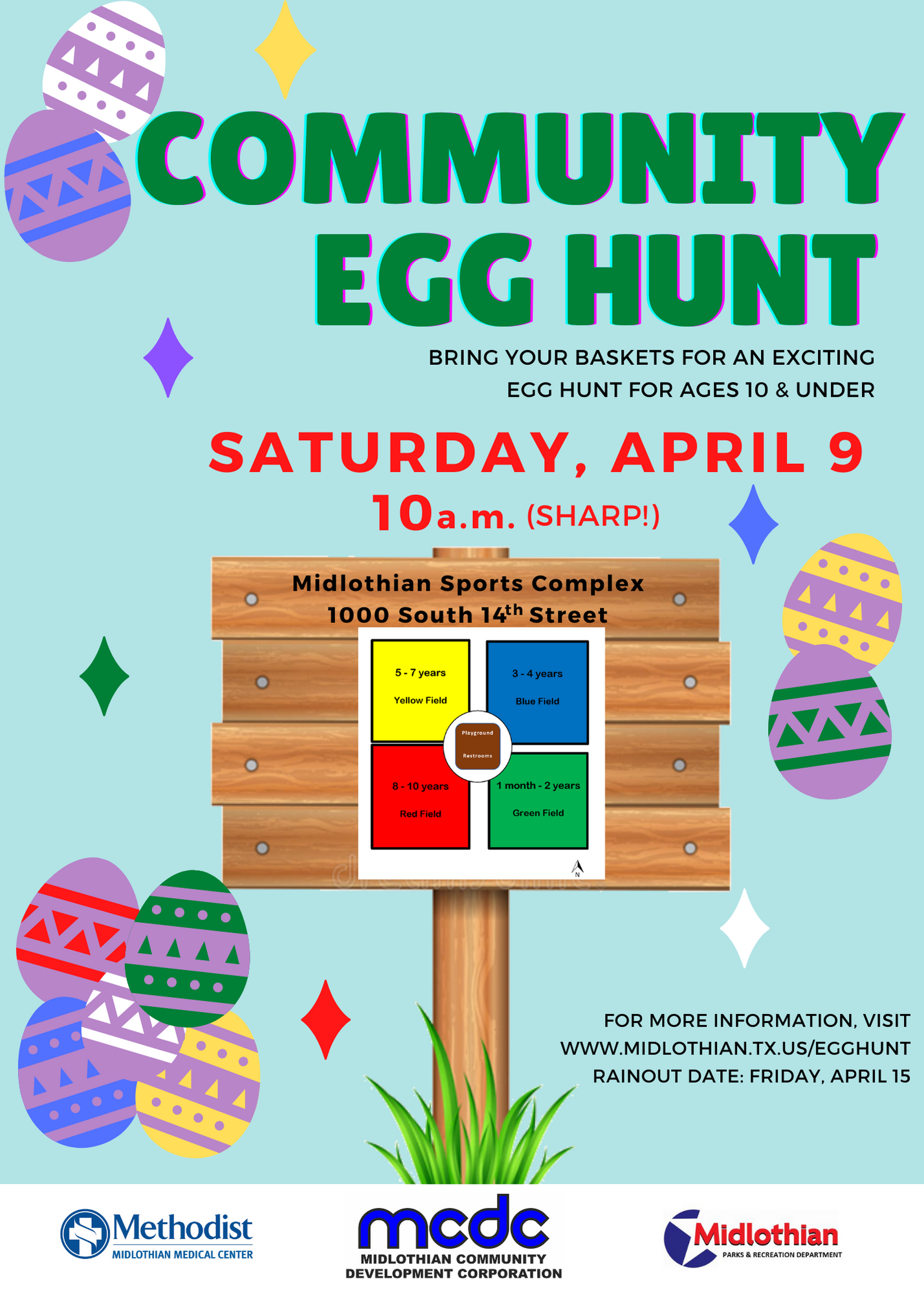 2021 Egg Hunt Flier Image