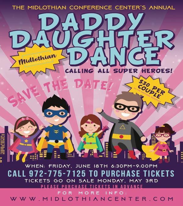 Daddy Daughter Dance Super Heroes
