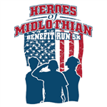 Heroes of Midlothian Benefit 5K Run logo
