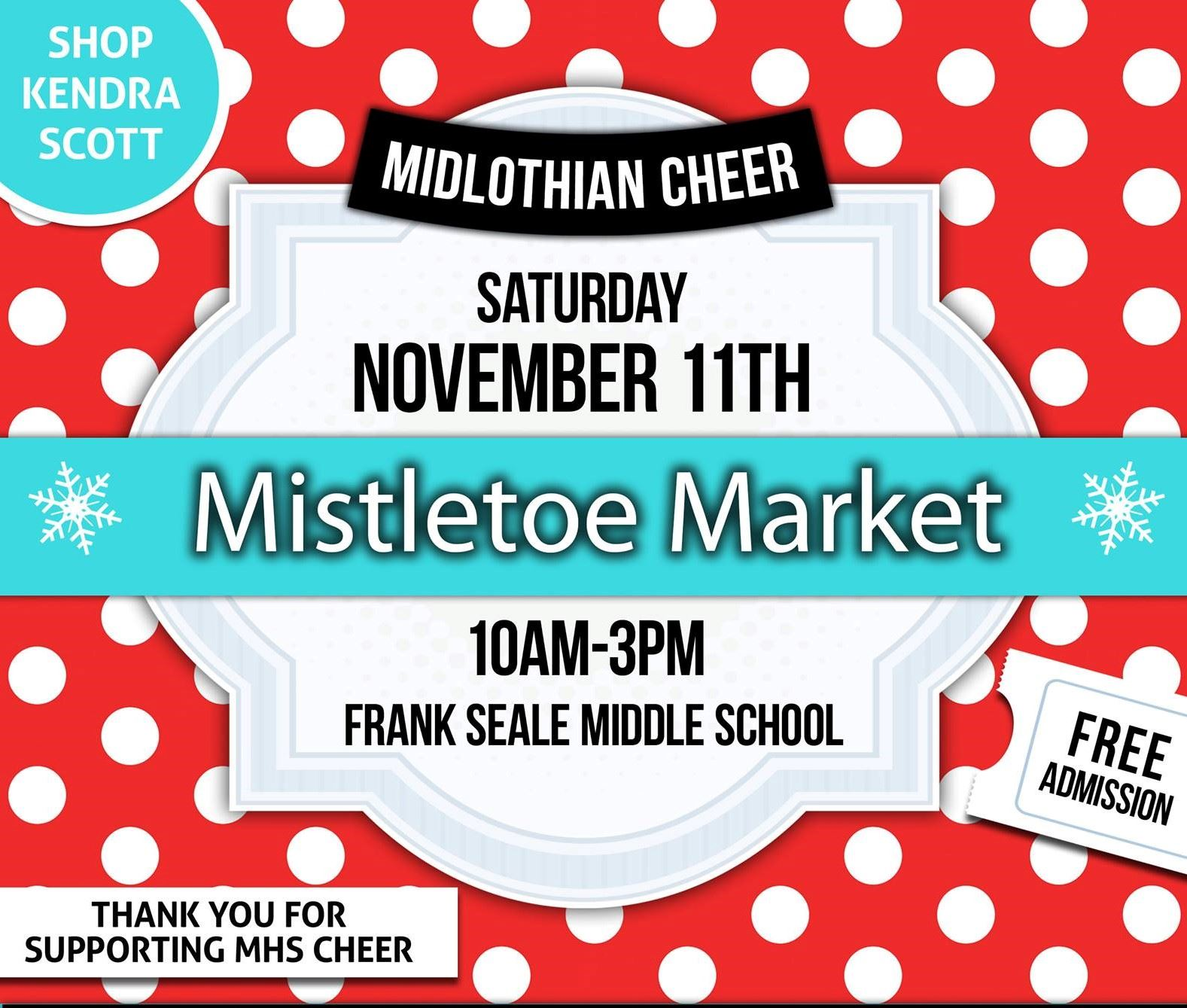 MHS Cheer Mistletoe Market