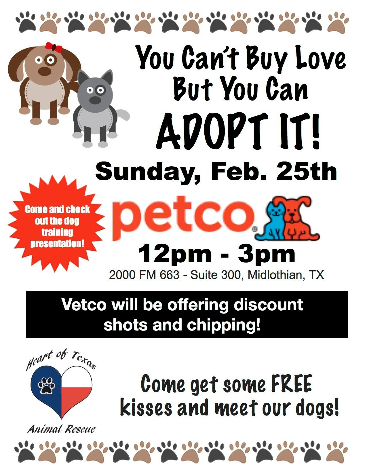 HOT Adoption Event