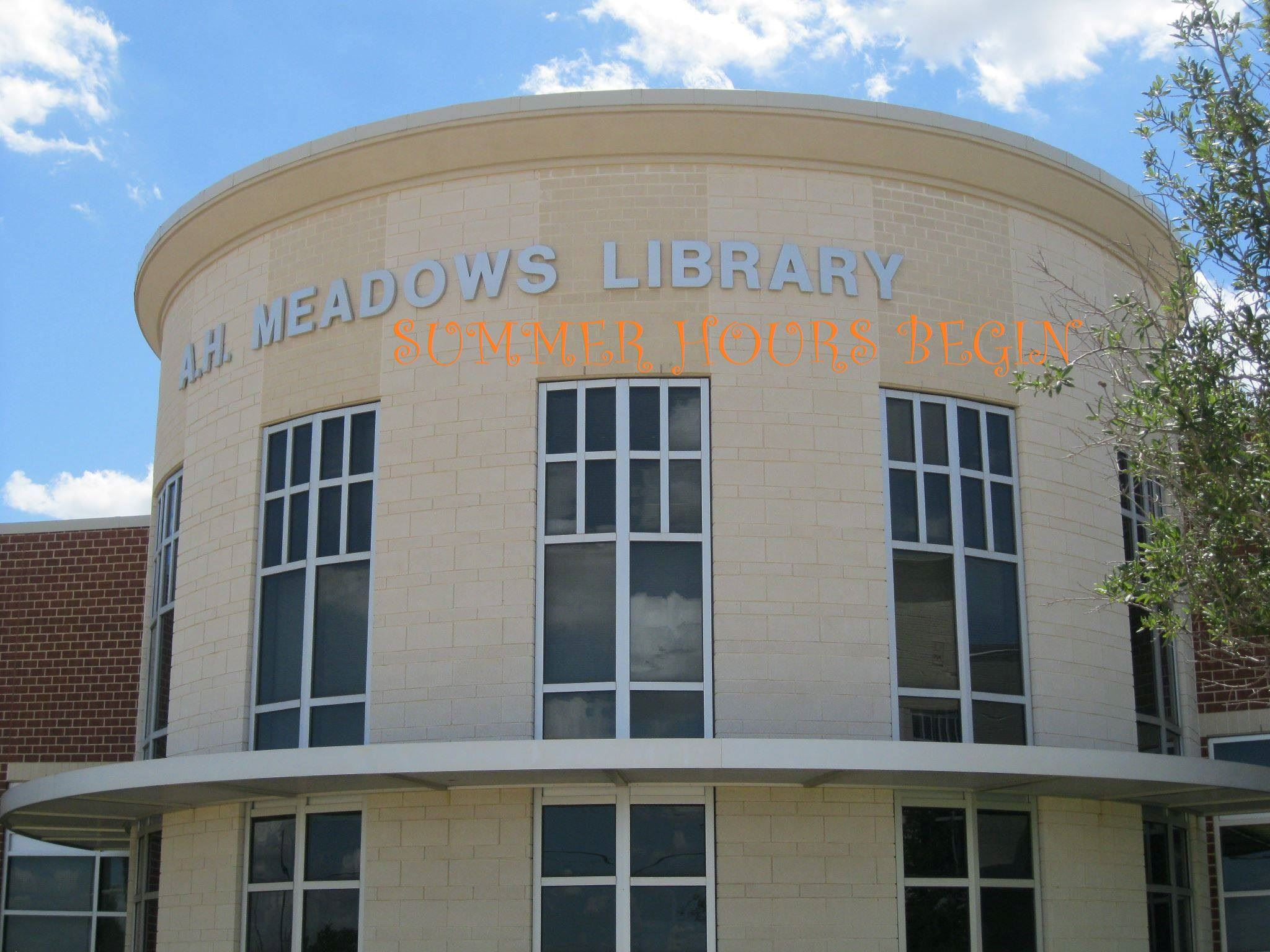 Meadows SUMMER HOURS