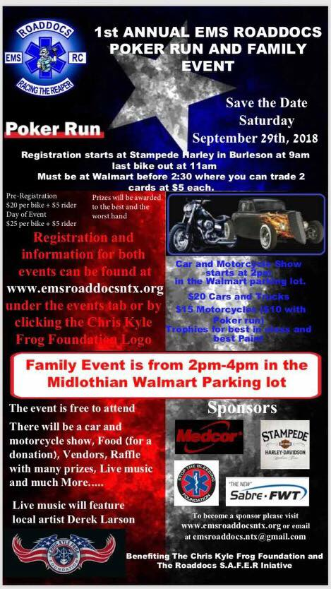 EMS Roaddocs Event Flyer