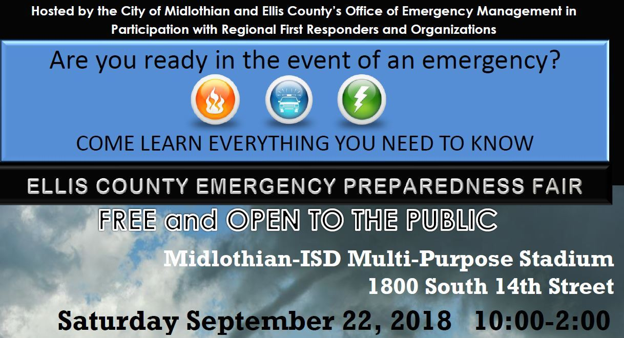 Preparedness Fair Flyer - small