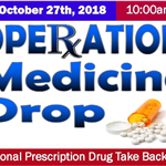 Rx Take Back 2018 October small