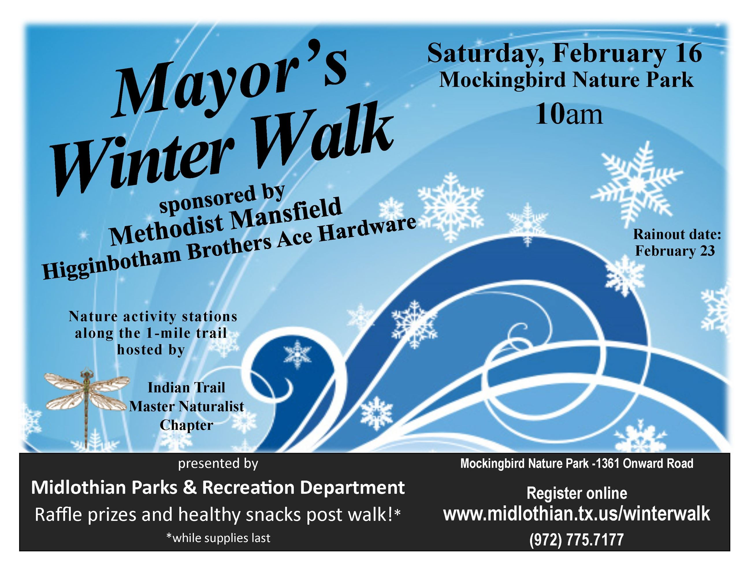Winter Walk 2019 Flyer