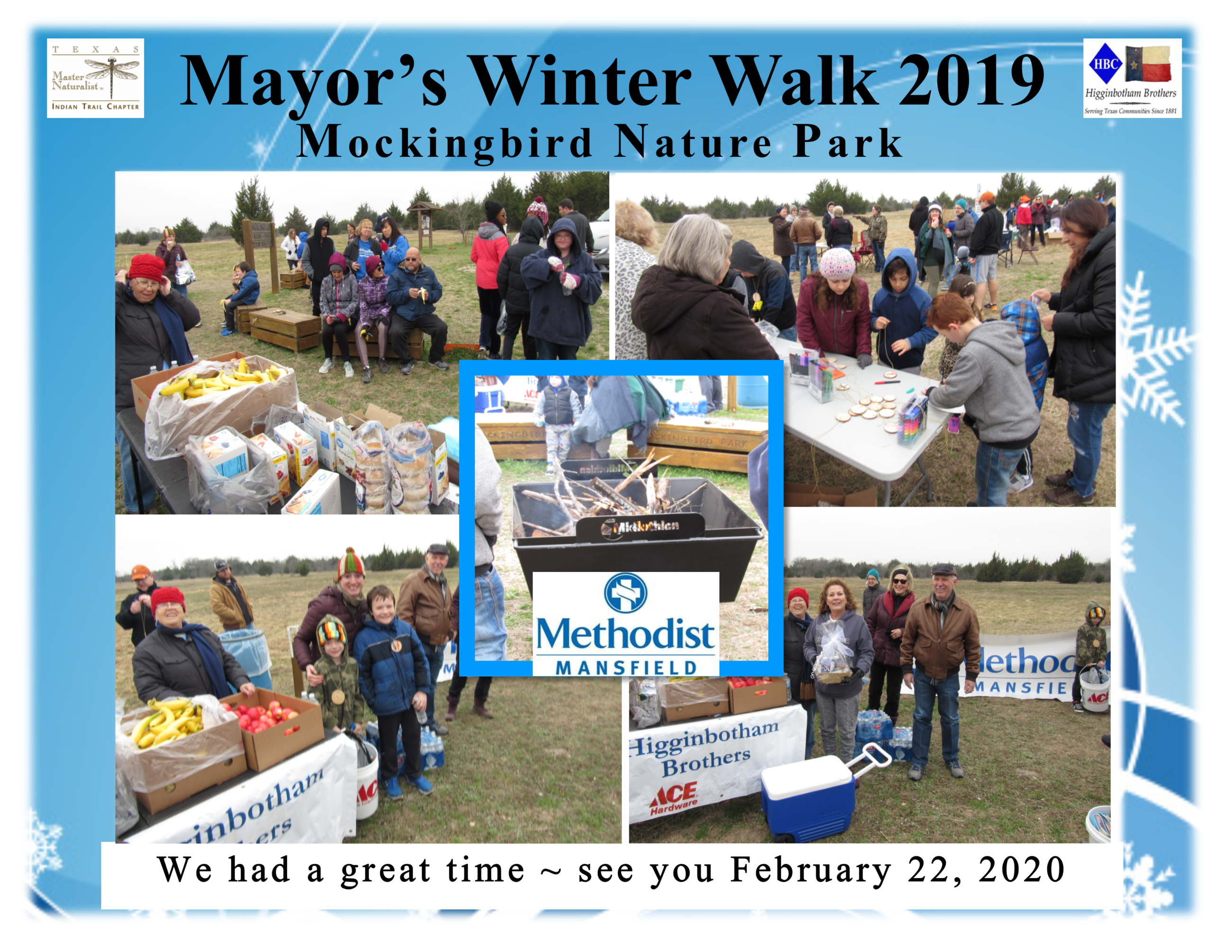 Winter Walk 2019 thank you