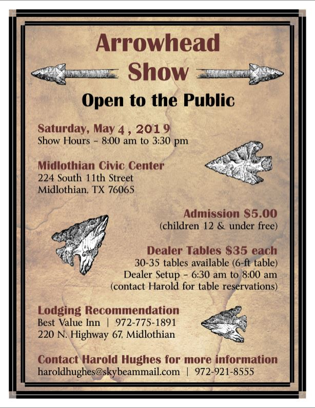Arrowhead Show Flyer