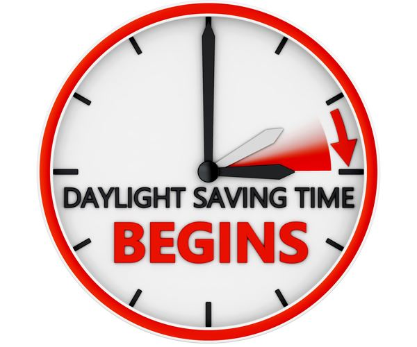 Daylight Saving Begins
