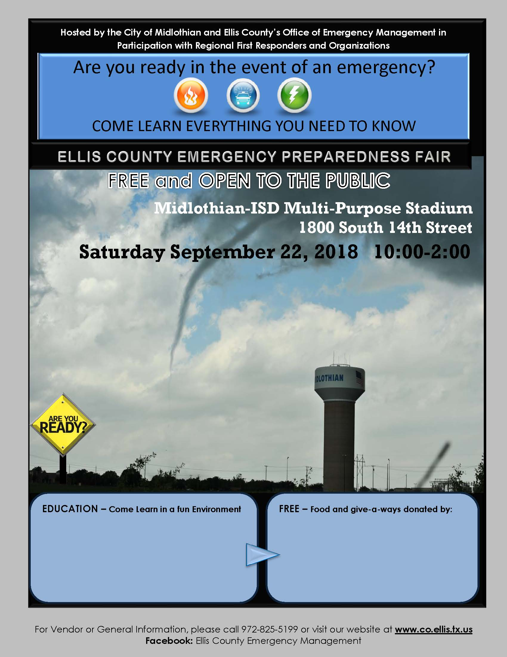 Preparedness Fair Flyer